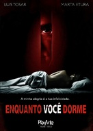 Mientras duermes - Brazilian DVD cover (xs thumbnail)