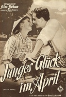 April Love - German poster (xs thumbnail)