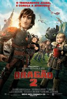 How to Train Your Dragon 2 - Brazilian Movie Poster (xs thumbnail)