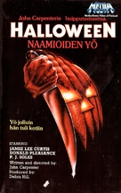 Halloween - Finnish VHS movie cover (xs thumbnail)