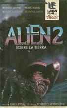 Alien 2 - Sulla terra - Argentinian VHS movie cover (xs thumbnail)