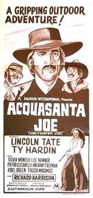 Acquasanta Joe - British Movie Poster (xs thumbnail)