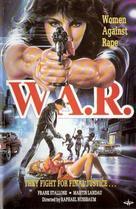 W.A.R.: Women Against Rape - Dutch VHS cover (xs thumbnail)