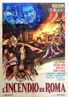 L'incendio di Roma - Italian Movie Poster (xs thumbnail)
