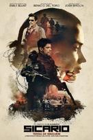Sicario - Portuguese Movie Poster (xs thumbnail)