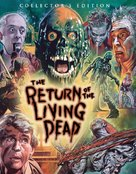 The Return of the Living Dead - Blu-Ray movie cover (xs thumbnail)