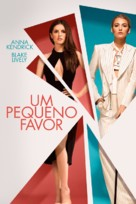 A Simple Favor - Portuguese Movie Cover (xs thumbnail)