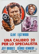 Thunderbolt And Lightfoot - Italian Movie Poster (xs thumbnail)