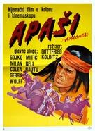 Apachen - Yugoslav Movie Poster (xs thumbnail)