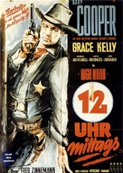 High Noon - German Movie Poster (xs thumbnail)