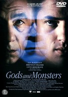 Gods and Monsters - Japanese DVD cover (xs thumbnail)