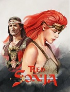 Red Sonja - South Korean Movie Cover (xs thumbnail)