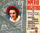 Tosca - Argentinian Movie Poster (xs thumbnail)