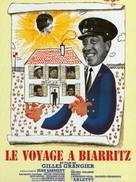 Le voyage à Biarritz - French Movie Poster (xs thumbnail)