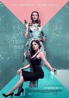 A Simple Favor - Lebanese Movie Poster (xs thumbnail)