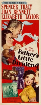 Father's Little Dividend - Movie Poster (xs thumbnail)