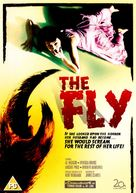 The Fly - British DVD cover (xs thumbnail)