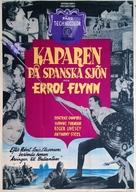 The Master of Ballantrae - Swedish Movie Poster (xs thumbnail)