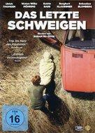 Das letzte Schweigen - German DVD cover (xs thumbnail)