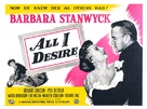 All I Desire - British Movie Poster (xs thumbnail)