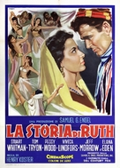 The Story of Ruth - Italian Movie Poster (xs thumbnail)