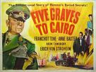 Five Graves to Cairo - British Movie Poster (xs thumbnail)