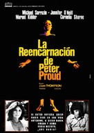 The Reincarnation of Peter Proud - Spanish Movie Poster (xs thumbnail)