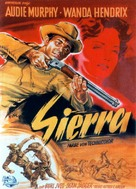 Sierra - German Movie Poster (xs thumbnail)