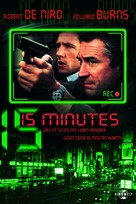 15 Minutes - German Movie Poster (xs thumbnail)