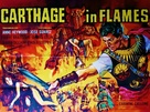 Cartagine in fiamme - British Movie Poster (xs thumbnail)