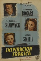 The Two Mrs. Carrolls - Argentinian Movie Poster (xs thumbnail)