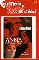Anna, quel particolare piacere - Italian DVD cover (xs thumbnail)