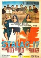 Stalag 17 - Italian Movie Poster (xs thumbnail)