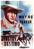 Riders of Destiny - Spanish Movie Poster (xs thumbnail)