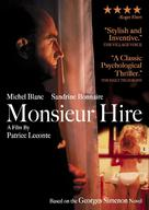 Monsieur Hire - DVD cover (xs thumbnail)