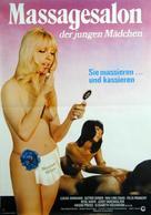 Massagesalon der jungen Mädchen - German Movie Poster (xs thumbnail)
