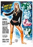 12 + 1 - Spanish Movie Poster (xs thumbnail)