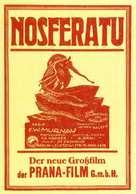 Nosferatu, eine Symphonie des Grauens - German Movie Poster (xs thumbnail)