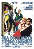 Sua Eccellenza si fermò a mangiare - Italian Movie Poster (xs thumbnail)