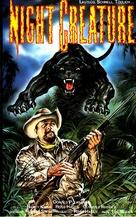 Night Creature - German VHS cover (xs thumbnail)