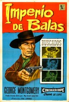 Last of the Badmen - Argentinian Movie Poster (xs thumbnail)