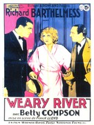 Weary River - French Movie Poster (xs thumbnail)