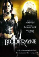 Bloodrayne - French DVD movie cover (xs thumbnail)