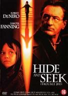 Hide And Seek - Dutch DVD movie cover (xs thumbnail)