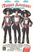 Three Amigos! - Finnish VHS movie cover (xs thumbnail)