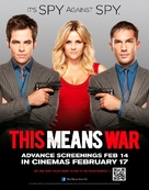 This Means War - British Movie Poster (xs thumbnail)