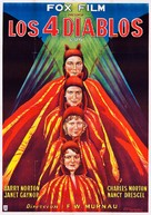 4 Devils - Argentinian Movie Poster (xs thumbnail)