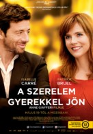 Ange et Gabrielle - Hungarian Movie Poster (xs thumbnail)
