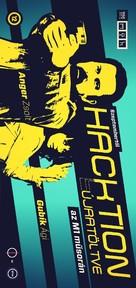 """""""Hacktion"""" - Hungarian Movie Poster (xs thumbnail)"""
