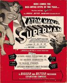 Atom Man Vs. Superman - poster (xs thumbnail)
